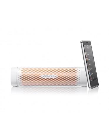 Denon Envaya Mini głośnik przenośny Bluetooth - biało-pomarańczowy