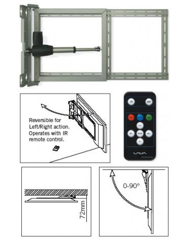 LAVA LVM-601 Elektryczny uchwyt do telewizora