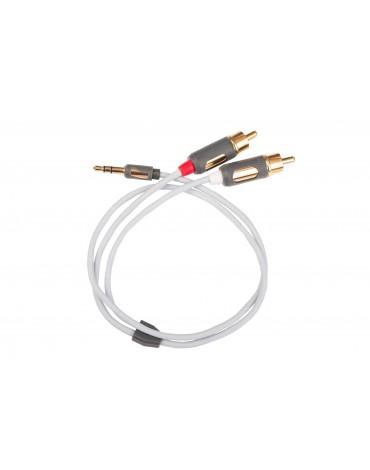 Kabel audio Supra mini jack 2 rca
