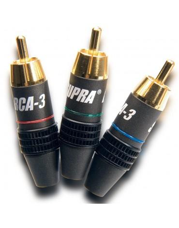 Supra RCA-3 RGB wtyk sygnałowy (Cinch)