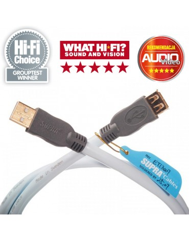 Supra USB 2.0 A-A M/F