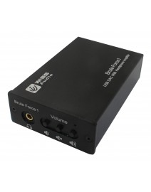 Wiss HA-M260U Stealth 1 przetwornik DAC z USB, wzmacniaczem słuchawkowym i wyjściem cyfrowym